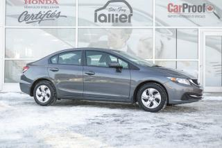 Used 2015 Honda Civic LX for sale in Québec, QC