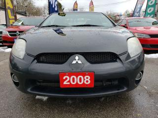 Used 2008 Mitsubishi Eclipse GT-P V6 EXTRA CLEAN/LEATHER/SUNROOF/ALLOYS for sale in Scarborough, ON