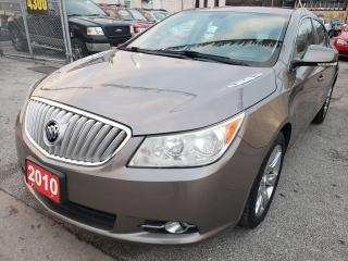 Used 2010 Buick LaCrosse LOW KM ONLY 121K / DUAL-ZONE-CLIMATE / BLUETOOTH for sale in Scarborough, ON