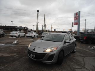 Used 2011 Mazda MAZDA3 ALLOY ONE OWNER ALL SERVICE RECORDS PW PL PM A/C for sale in Oakville, ON