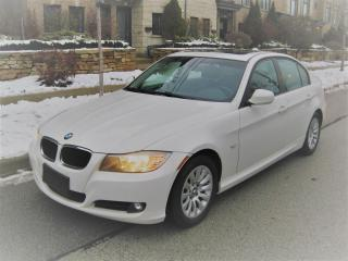 Used 2009 BMW 3 Series NO ACCIDENTS, CERTIFIED, LOW KMS, SUNROOF, LEATHER for sale in Toronto, ON