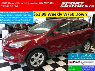 Used 2014 Ford Escape SE+MyFord Touch Screen+GPS+Camera+New Tires+Brakes for sale in London, ON
