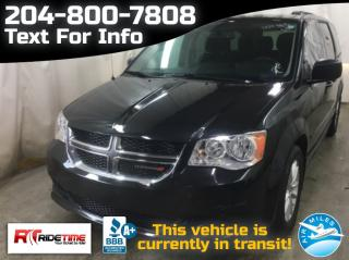 Used 2017 Dodge Grand Caravan SXT PLUS for sale in Winnipeg, MB
