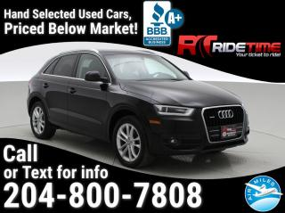Used 2015 Audi Q3 Technik for sale in Winnipeg, MB