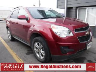 Used 2011 Chevrolet EQUINOX LT 4D UTILITY  AWD for sale in Calgary, AB