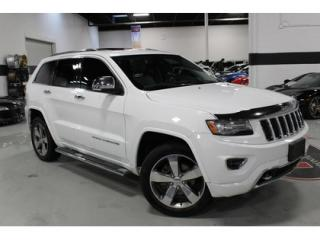 Used 2014 Jeep Grand Cherokee OVERLAND   NAVIGATION   BACKUP CAMERA for sale in Vaughan, ON