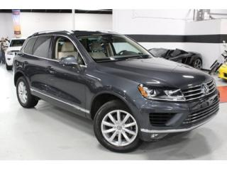 Used 2016 Volkswagen Touareg 3.6L HIGHLINE   CLEAN CARPROOF   VW WARRANTY for sale in Vaughan, ON