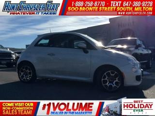 Used 2013 Fiat 500 SPORT/AUTO/SUN/HTD STS & MORE!!! for sale in Milton, ON