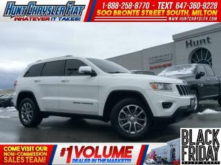 Used 2014 Jeep Grand Cherokee LIMITED/4X4/SUN/8.4/HTD STS/RMT STRT & MORE!! for sale in Milton, ON