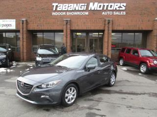 Used 2015 Mazda MAZDA3 NO ACCIDENT | SKYACTIV | BLUETOOTH | CRUISE | KEYLESS for sale in Mississauga, ON