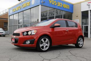 Used 2012 Chevrolet Sonic 2LT 5-Door | KEYLESS ENTRY | POWER DOOR LOCKS | HEATED SIDE MIRRORS | TRACTION CONTROL for sale in Hamilton, ON