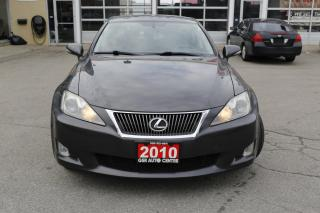 Used 2010 Lexus IS IS 250 | CLEAN CARFAX | AWD | SUNROOF | LEATHER | HEATED SEATS | PUSH START | for sale in Hamilton, ON