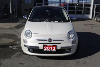 Used 2013 Fiat 500 Lounge Hatchback for sale in Hamilton, ON