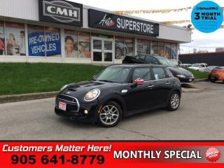 Used 2015 MINI Cooper Hardtop S  LEATHER ROOF HEATED SEATS 4 DOOR AUTOMATIC for sale in St. Catharines, ON