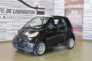 Used 2013 Smart fortwo Pure for sale in Laval, QC