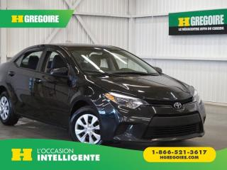 Used 2016 Toyota Corolla A/C-CONTRÔLE AUDIO for sale in St-Léonard, QC