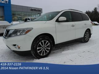Used 2014 Nissan Pathfinder Sv 4x4 - Camera for sale in St-Raymond, QC