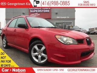 Used 2006 Subaru Impreza 2.5 i | ALL WHEEL DRIVE | ALLOYS | CD | A/C | for sale in Georgetown, ON