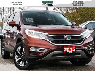 Used 2015 Honda CR-V Touring  Accident Free for sale in North York, ON