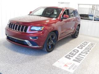 Used 2016 Jeep Grand Cherokee Overland for sale in Red Deer, AB