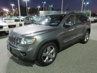 Used 2012 Jeep Grand Cherokee Overland 4D Utility 4WD HEATED SEATS -LEATHER - NAVIGATION - SUNROOF for sale in Vancouver, BC