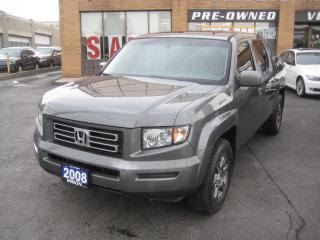 Used 2008 Honda Ridgeline EX-L w/Sunroof Leather 4WD for sale in North York, ON