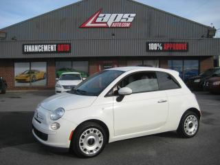 Used 2014 Fiat 500 ***TRES PRORE*** for sale in Ste-Catherine, QC