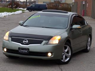 Used 2007 Nissan Altima LEATHER,AUTOSTART, SUNROOF, ALLOY WHEELS,LOADED for sale in Mississauga, ON