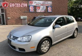 Used 2008 Volkswagen Rabbit 2.5L/ONE OWNER/NO ACCIDENT/CERTIFIED/WARRANTY INCL for sale in Cambridge, ON
