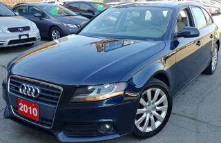 Used 2010 Audi A4 2.0T for sale in Hamilton, ON