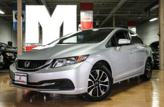 Used 2014 Honda Civic EX - BACKUP|SUNROOF|SIDECAM for sale in North York, ON