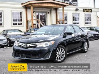 Used 2014 Toyota Camry LE ROOF 17ALLOYS BK.CAMERA WOW!! for sale in Ottawa, ON