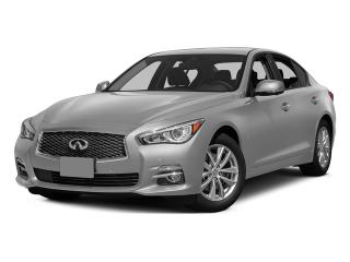 Used 2015 Infiniti Q50 Premium  - Sunroof -  Navigation - $201.86 B/W for sale in Mississauga, ON