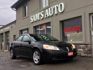Used 2007 Pontiac G6 4DR SDN SE for sale in Hamilton, ON