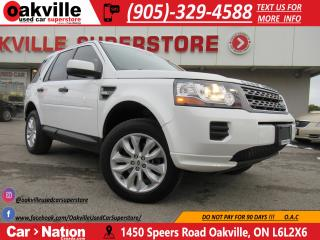 Used 2014 Land Rover LR2 | LEATHER | PANO ROOF | BLUE TOOTH | LOW KM for sale in Oakville, ON
