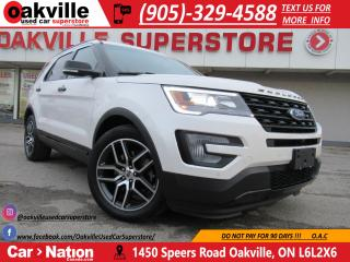 Used 2017 Ford Explorer Sport | 4X4 | NAVI | DUAL SUNROOF | LEATHER for sale in Oakville, ON