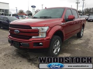 Used 2018 Ford F-150 Lariat  502A, SUPERCREW, NAVIGATION for sale in Woodstock, ON