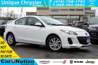 Used 2012 Mazda MAZDA3 GS-SKY| CONVENIENCE PKG| HTD SEATS| BLUETOOTH| for sale in Burlington, ON