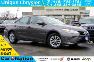Used 2017 Toyota Camry LE| REAR CAM| BLUETOOTH| SPACIOUS INTERIOR for sale in Burlington, ON