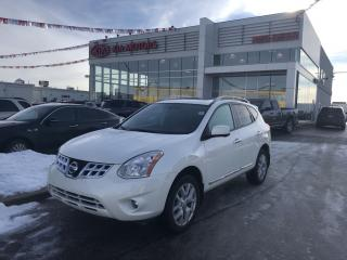 Used 2013 Nissan Rogue SL LEATHER MOON ROOF NAVIGATION for sale in Red Deer, AB