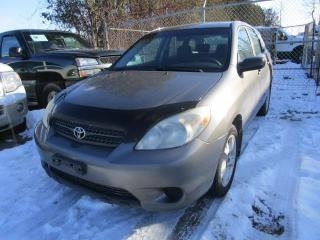 Used 2005 Toyota Matrix XR for sale in Cookstown, ON