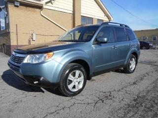 Used 2010 Subaru Forester 2.5X AWD Automatic Loaded Sunroof Certified 206Km for sale in Rexdale, ON