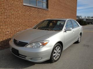 Used 2002 Toyota Camry XLE for sale in Oakville, ON