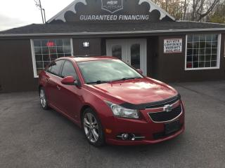 Used 2012 Chevrolet Cruze LTZ Turbo w/1SA for sale in Kingston, ON