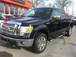 Used 2009 Ford F-150 LARIAT 4x4 SuperCrew for sale in London, ON