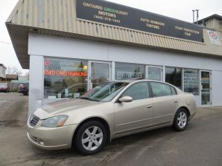 Used 2005 Nissan Altima LOW KM, LEATHER,SUNROOF,EVERYTHING WORKS for sale in Mississauga, ON