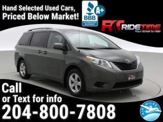 Used 2013 Toyota Sienna LE for sale in Winnipeg, MB
