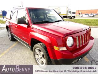 Used 2012 Jeep Patriot SPORT - 4WD - 5 SPEED MANUAL for sale in Woodbridge, ON
