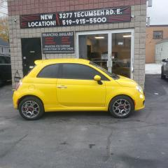 Used 2012 Fiat 500 Sport for sale in Windsor, ON