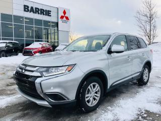 Used 2018 Mitsubishi Outlander ES All Wheel Control for sale in Barrie, ON